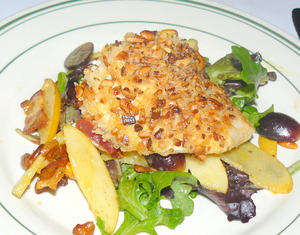 Cashew-crusted%20halibut%20on%20mixed%20greens.JPG