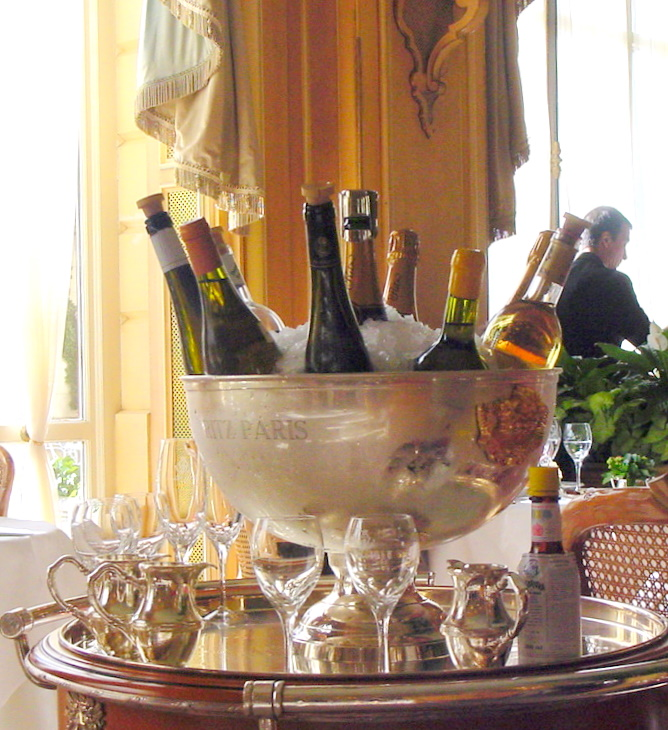 Champagne bucket at Ritz.JPG