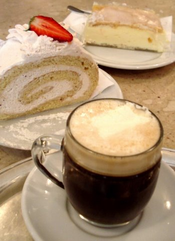 Coffee and cake in Salzburg.JPG