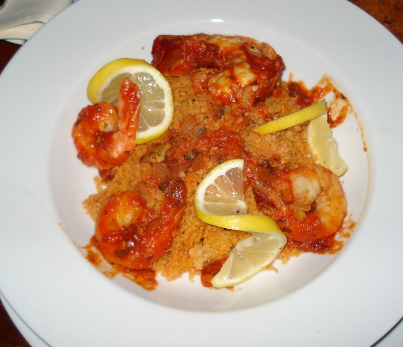 Sicilian Shrimp And Couscous Recipe — Dishmaps