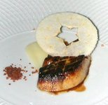 Duck liver w apple crisp1.JPG