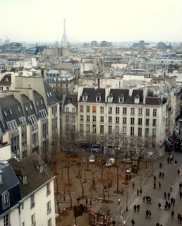 Picture  Atop Eiffel Tower on Costes Brothers Atop The Now 30 Year Old Modern Art Museum