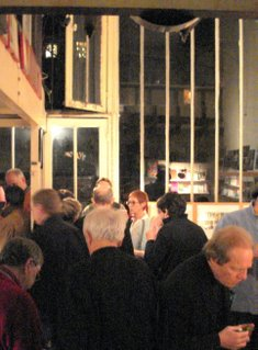 Guests at Jim Haynes studio.JPG