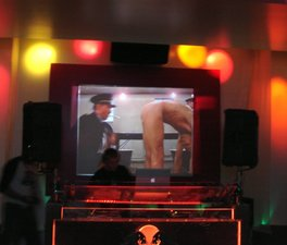 Happy Hour movies at See Sound1.JPG