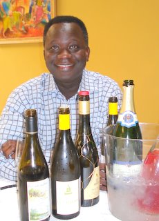 Mamadou and wines.JPG
