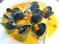 Mussels and Mashers at Bell St Diner.JPG
