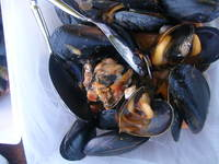 Mussels at Flying Fish anniversary picnic.JPG