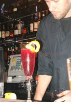 Purple cocktail at Karma1.JPG