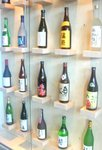 Sake wall at Umi.JPG
