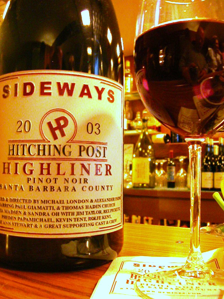 Sideways pinot at Hitching Post.jpg