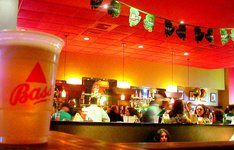 St Paddy at Blarney Stone.JPG