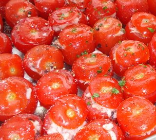 Stuffed tomatoes at Bite.JPG