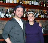 Zane Harris & Anu Apte at Rob Roy.JPG