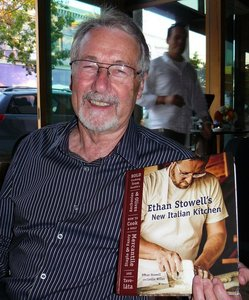 Kent Stowell w Ethan's book.JPG
