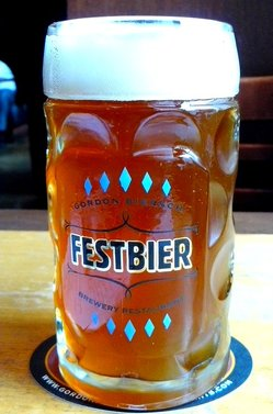 Festbier at Gordon Biersch.JPG