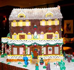 A gingerbread house.JPG