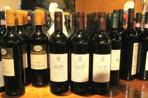 Wines get stocked.JPG