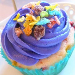 Multicolored cupcake.JPG