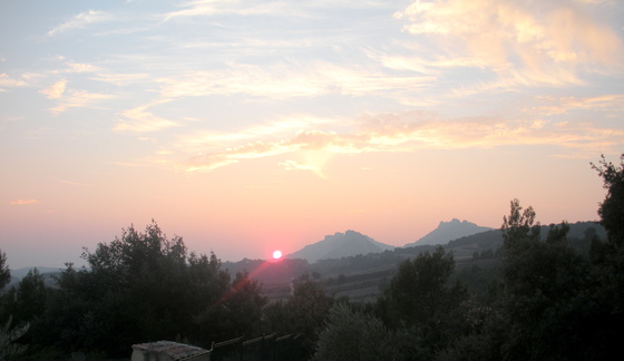 Sunset in Provence.JPG