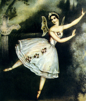Carlotta Grisi as Giselle in Giselle Act II 184.jpg