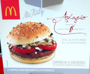 McDonalds display in Rome.JPG