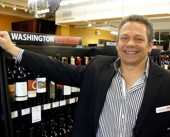 David LeClaire w Wash wines.JPG