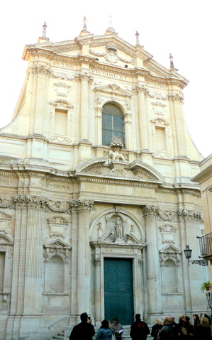 St Irene cathedral in Lecce.JPG