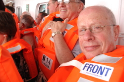 RH at Zaandam lifeboat drill.JPG