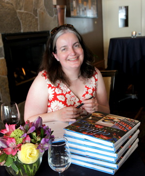 Jill Lightner at book signing.JPG