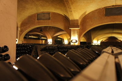 Bottle cellar at Bellavista.JPG