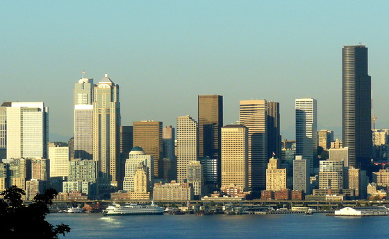 Seattle skyline from W Seattle.JPG