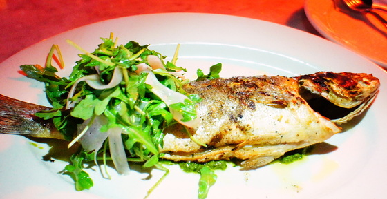 Branzino comes to table.JPG