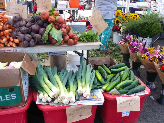 Vegetables at Georgetown farmers market.JPG